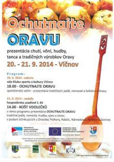 20.-21. 9. 2014 Ochutnejte M-Oravu