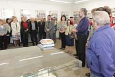 18.5.2014 - Vernisáž výstavy 750. let obce Vlčnov
