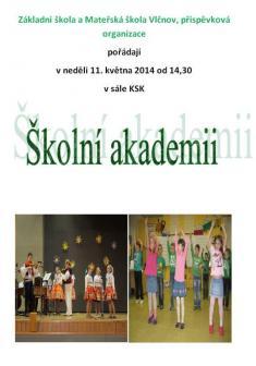 11.5.2014 - Školní akademie