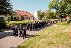 6.5.2018 - Mše za SDH a posvěcení  hasičského vozu
