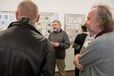 11.3.2018 - Vernisáž výstavy Jiřího Hiršla