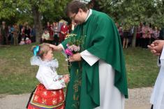 10.9.2017 - Děkovná mše svatá u kapličky