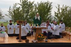 15.9.2013 - Děkovná mše svatá za úrodu