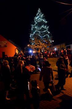 1.12.2016 - Rozsvěcování vánočního stromu
