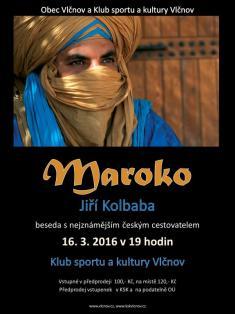16.3.2016 - Beseda s cestovatelem Kolbabou
