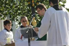 13.9.2015 - Děkovná mše svatá za úrodu