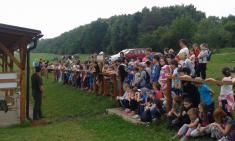 29.6.2015 - Návštěva dětí na myslivecké střelnici
