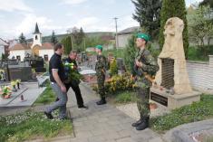 26.4.2015 - Pietní vzpomínka na osvobození Vlčnova